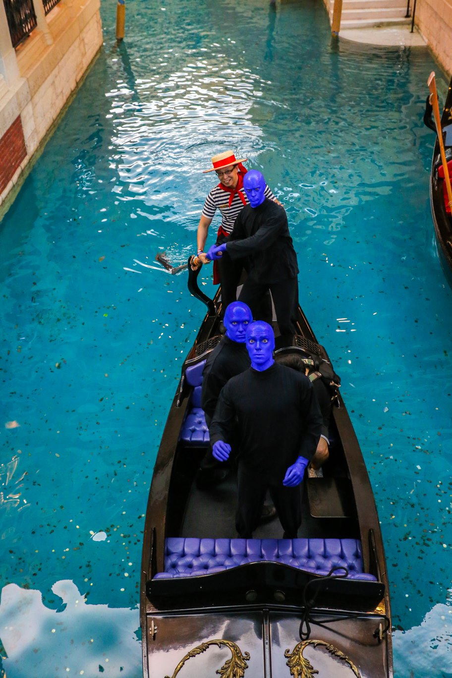 Blue Man Group Venetian Gondolier