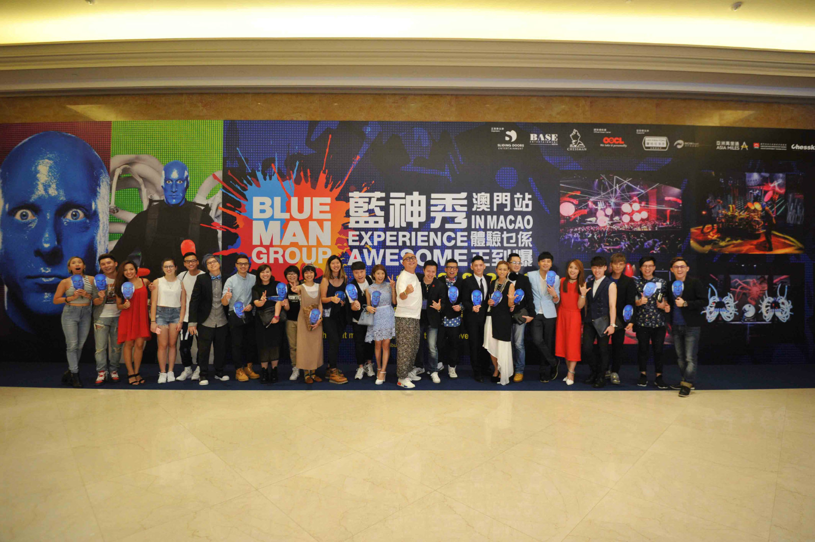 Blue Man Group in Macao