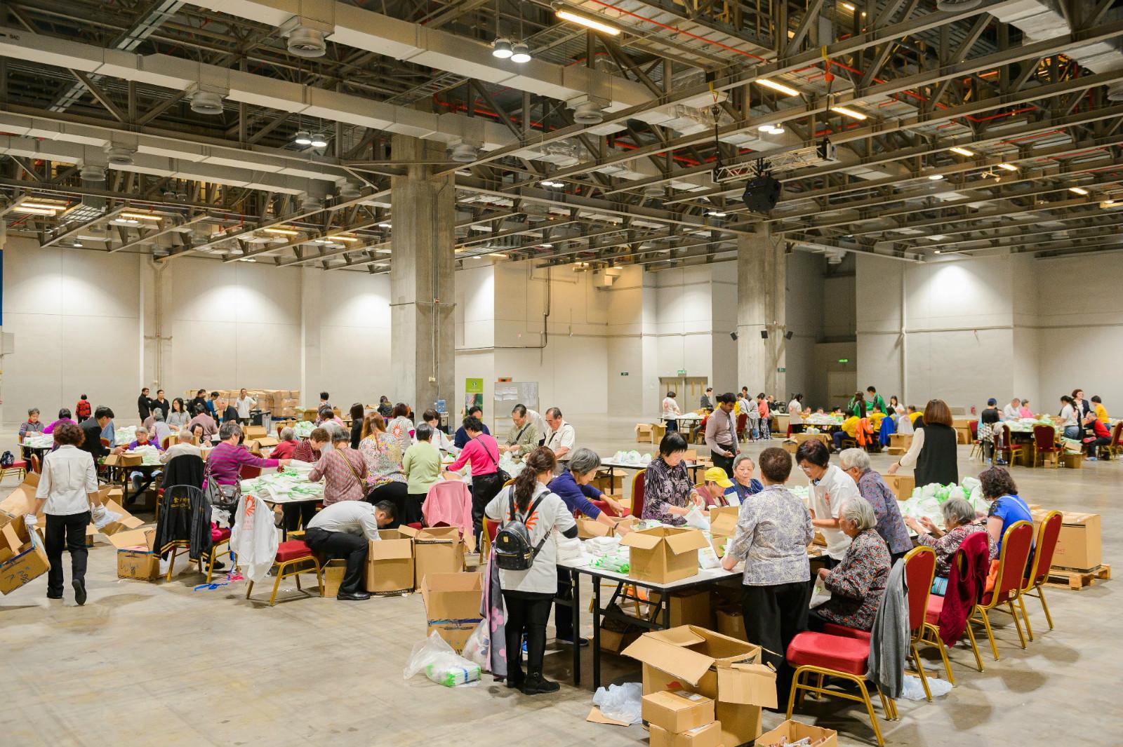 金沙中国与洁世携手制作35,000个福袋