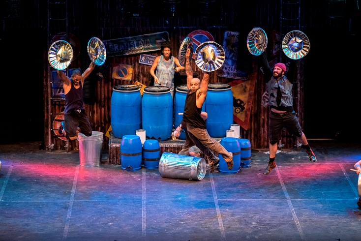 STOMP Opening Night Offers a Spectacular Feast of Percussion