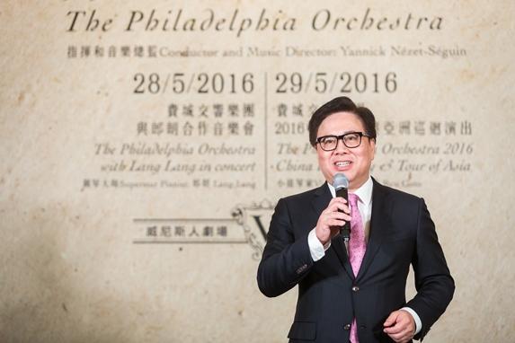 金沙中國有限公司總裁王英偉博士