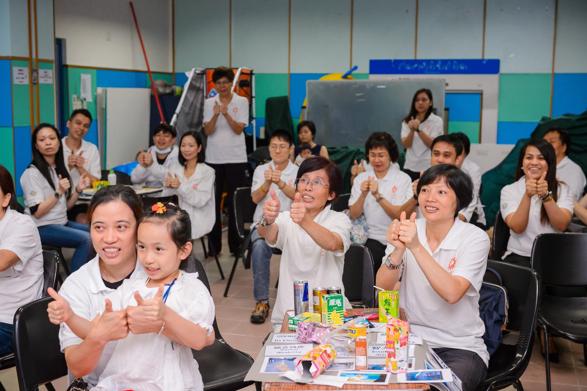 金沙中国关怀大使进一步了解听障人士需要
