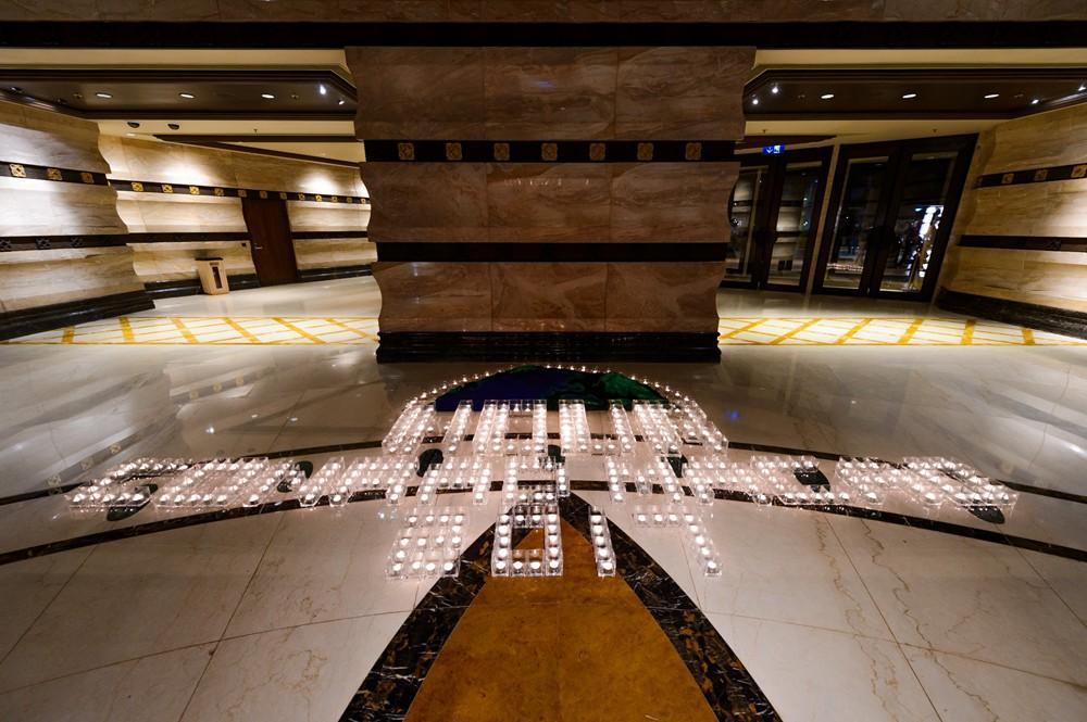 澳门康莱德酒店通过关掉其外墙照明支持「2017年地球一小时」活动