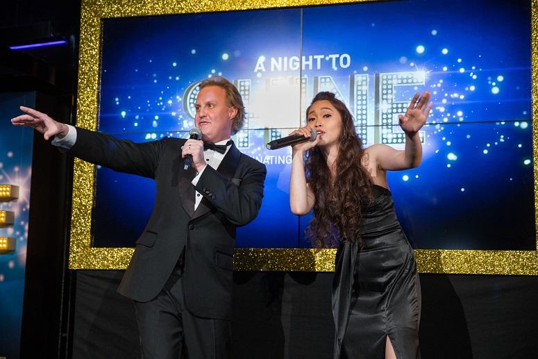 澳门金沙度假区在香港举行「金夜璀璨夺目」酒会为宾客展示精彩絶伦的活动及机遇
