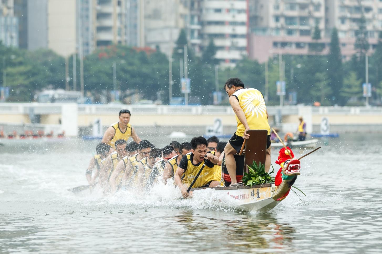 金沙中国积极备战龙舟赛事