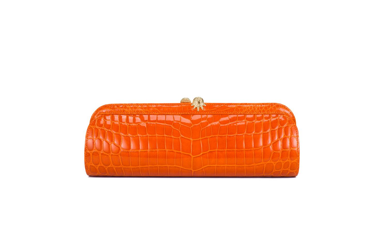 KWANPEN Eleno Clutch 1389 经典宴会包 Orange