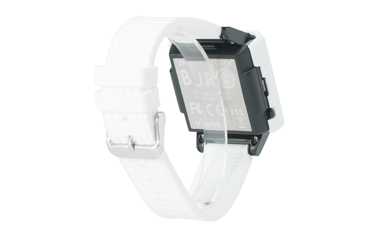 The Atrium Burg Smart Watch Phone - White