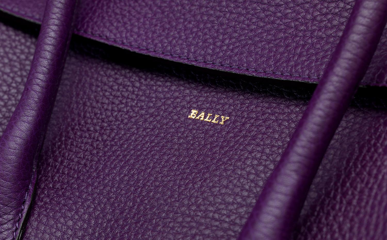 Bally Sommet fold 手提包(勃艮第酒红)