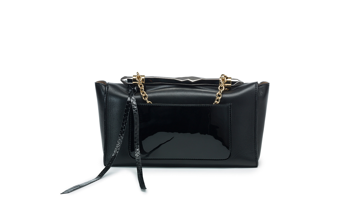 Jimmy Choo ONIX Shoulder Bag - Black