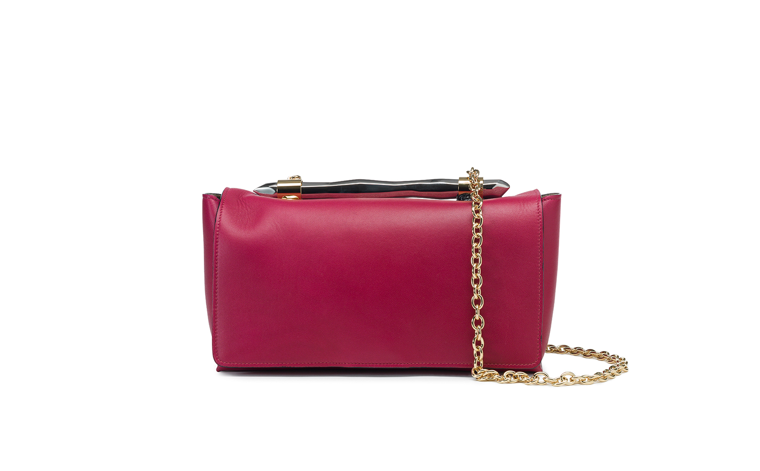 Jimmy Choo ONIX Shoulder Bag - Raspberry