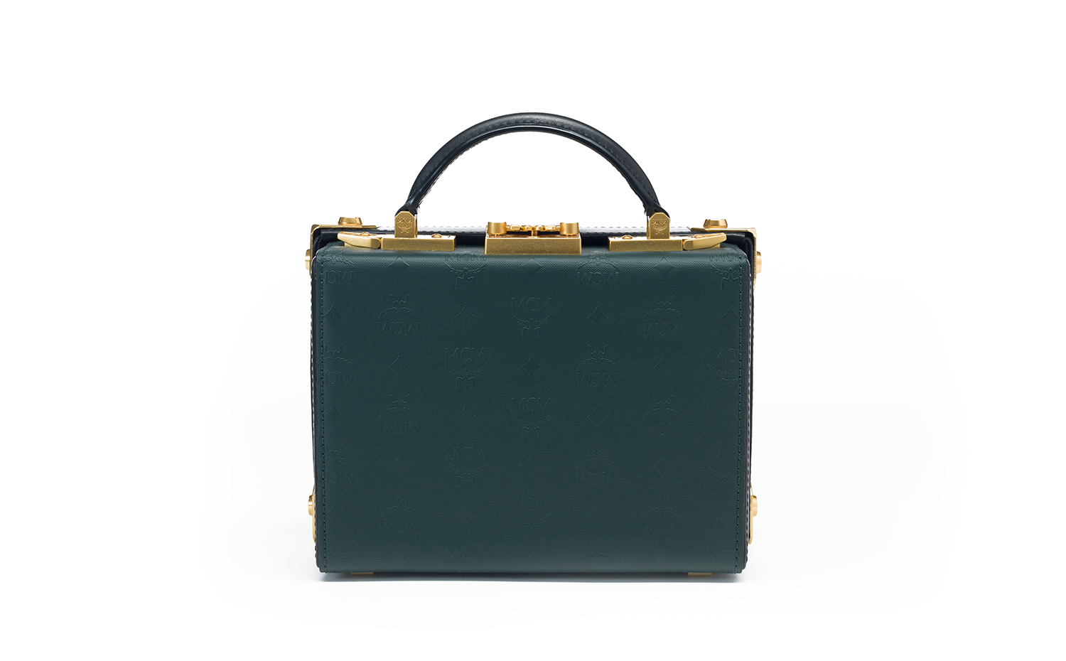 MCM Berlin Crossbody Bag - Green