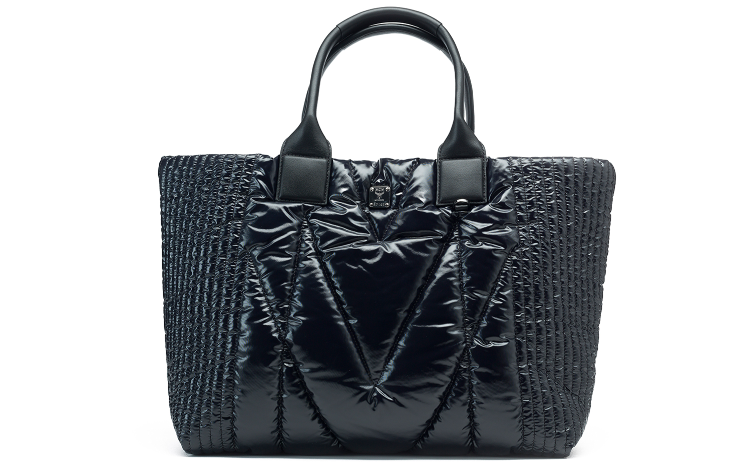 MCM KISSEN Shopper - Black