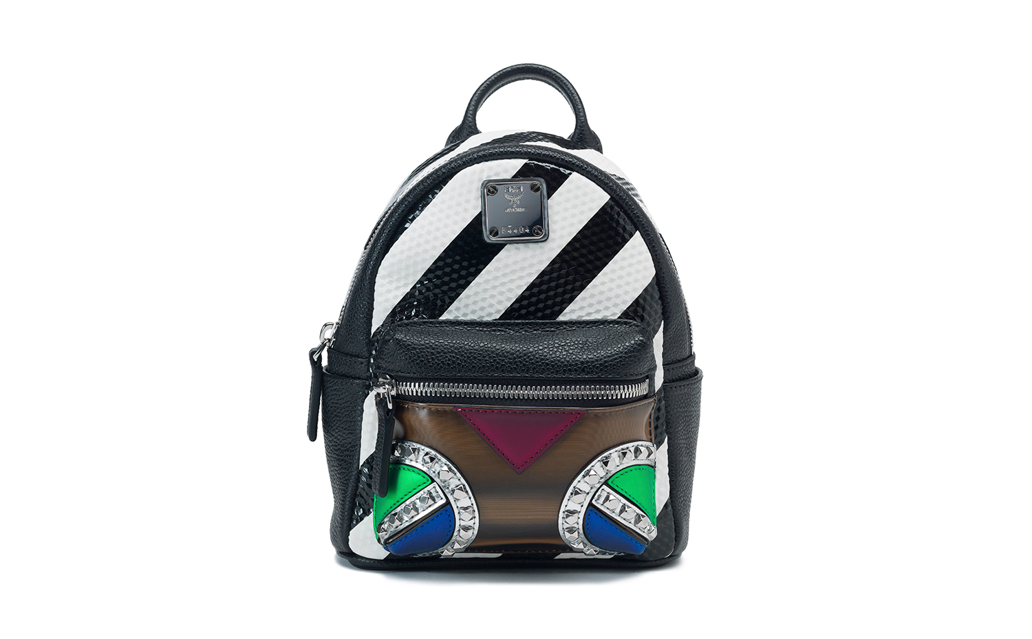 MCM Roboter Backpack - Multicolor