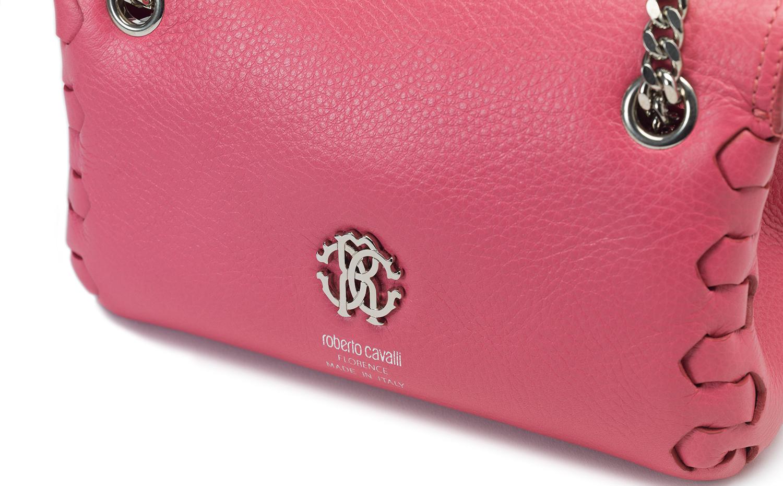 Roberto Cavalli HERA 单肩包 - 粉红色
