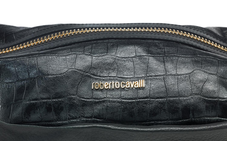 Roberto Cavalli 单肩包 - 黑色