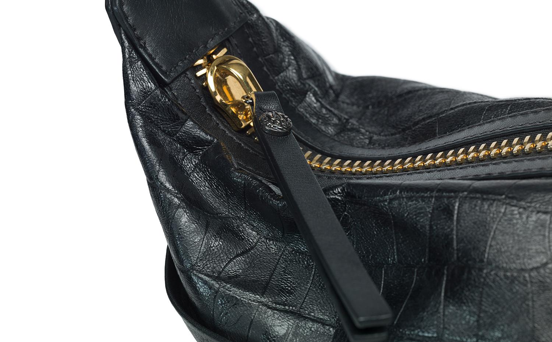 Roberto Cavalli 單肩包 - 黑色
