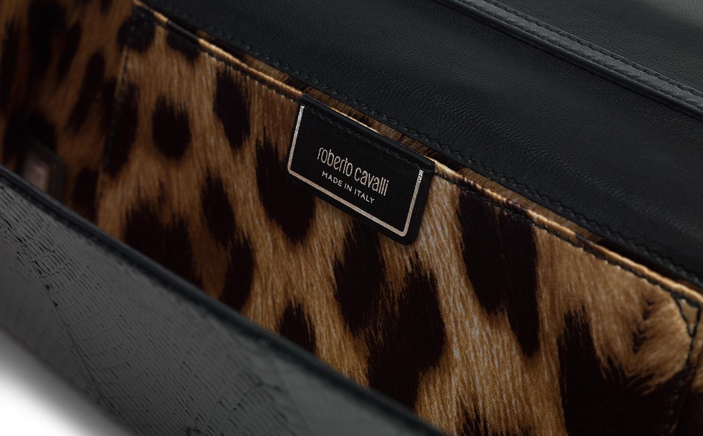 Roberto Cavalli 手拿包 - 黑色