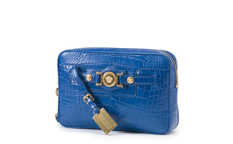 Versace Palazzo Hangbag - Blue
