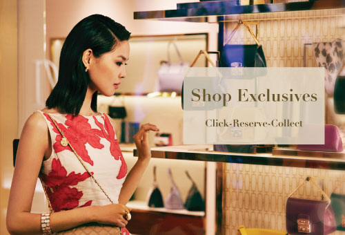 Shop and Reserve Your Exclusives click to reserve in simple steps
