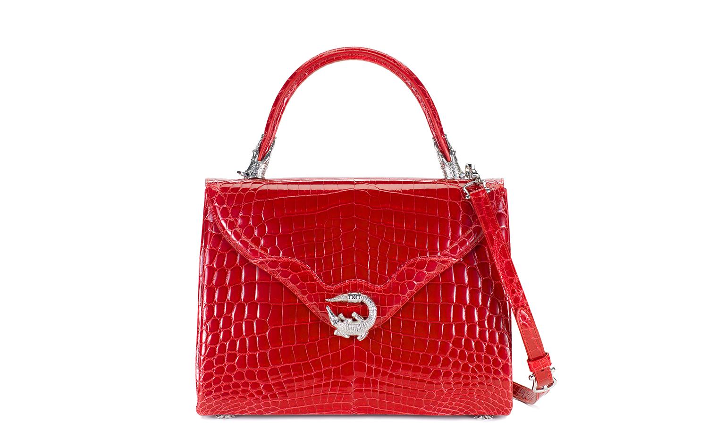 KWANPEN Signature Handbag 5568 - Flame 經典手袋5568烈焰紅