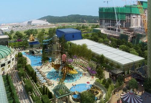 水世界及酒店游泳池