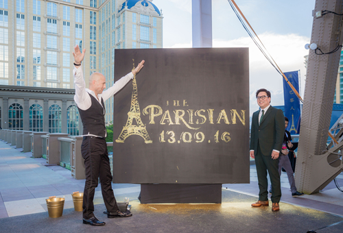 The Parisian Macao Opening Date Announcement
