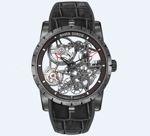 Excalibur 42MM Automatic Skeleton with Micro-Roto