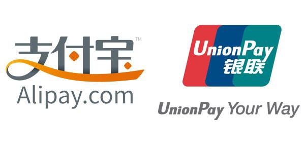 Alipay & UnionPay