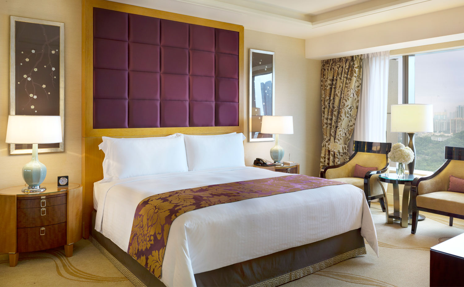 Conrad Macao, Cotai Central King Deluxe Suite