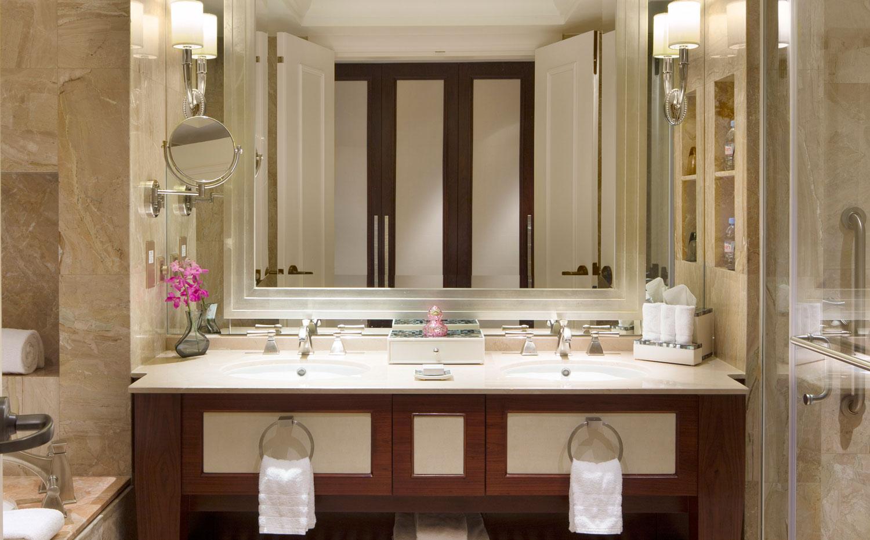 澳门金沙大道康莱德酒店豪华浴室