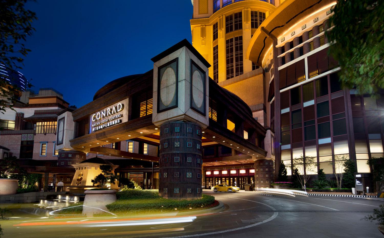 澳门金沙城中心康莱德酒店外观