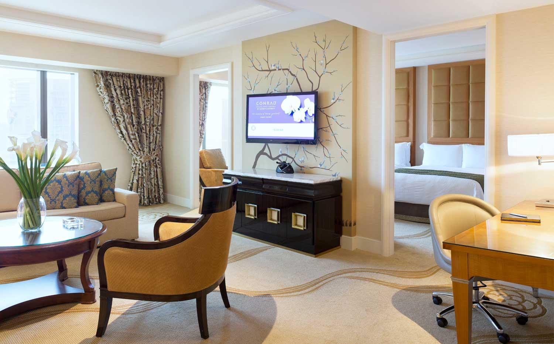 澳门金沙城中心康莱德酒店标准套房