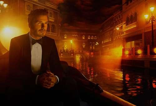 The Venetian Macao, David Beckham, Neversettle