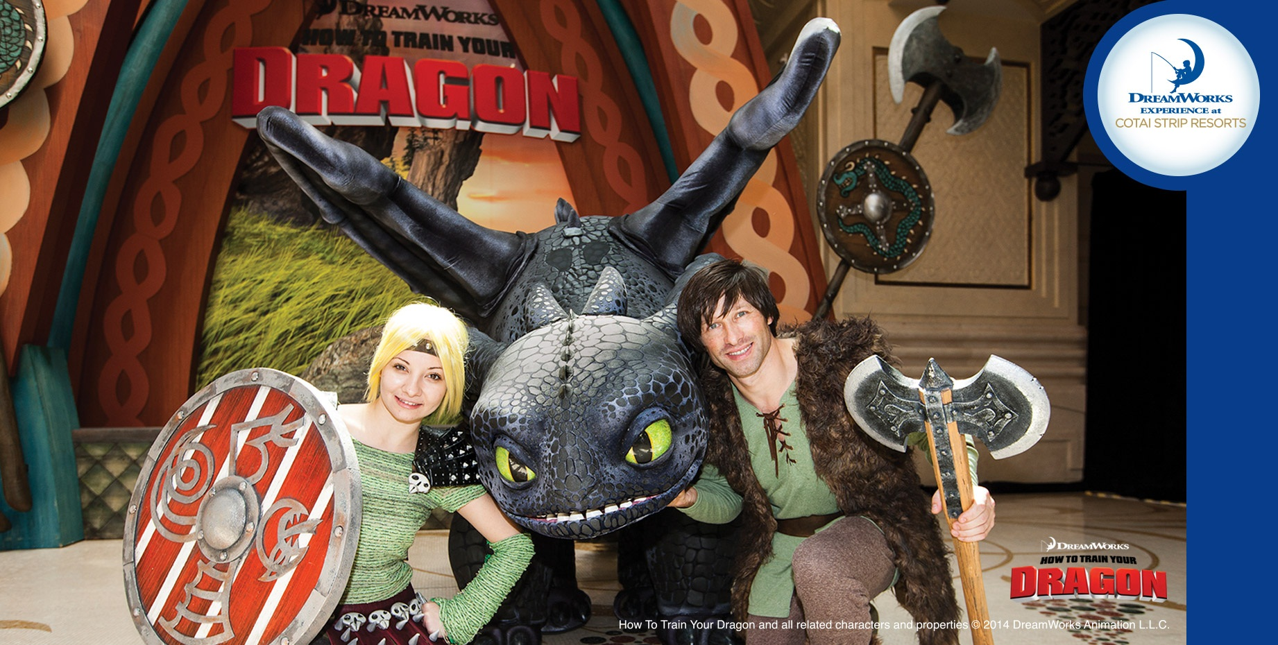 JOIN THE DRAGONS VIKING FEAST WITH DREAMWORKS GANG