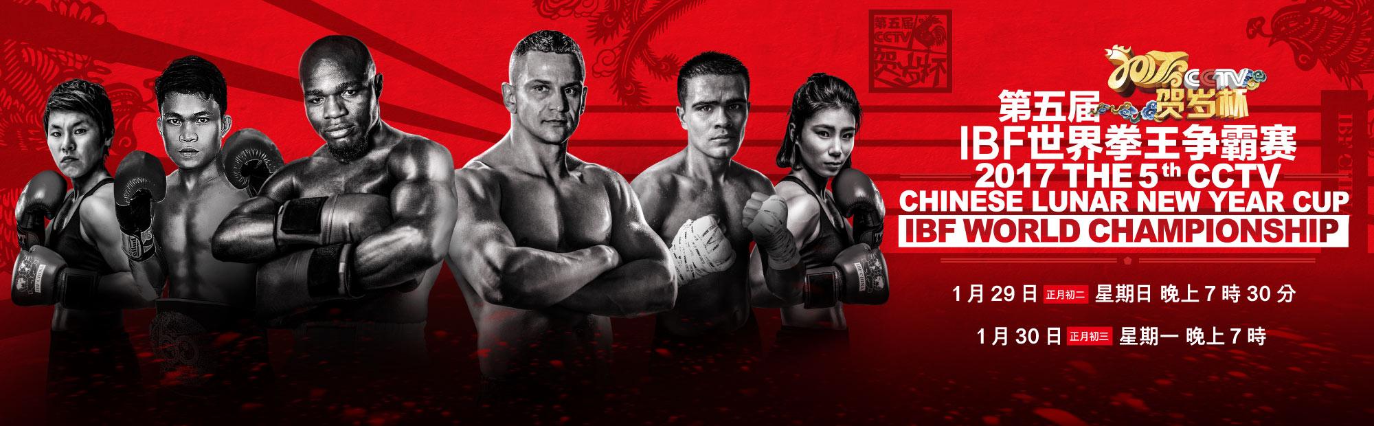 2017第五屆CCTV賀歲杯·IBF世界拳王爭霸賽