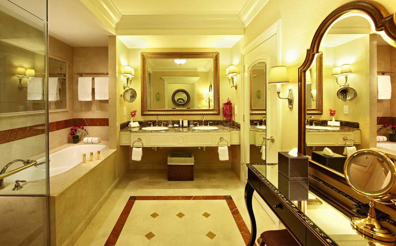 澳门威尼斯人套房浴室