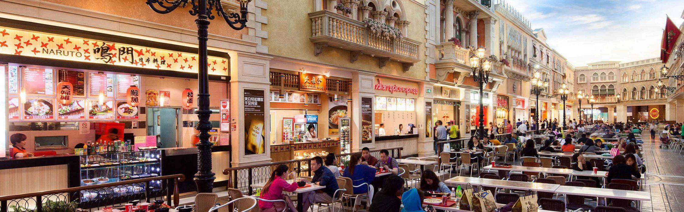 Venetian Macao Food Court