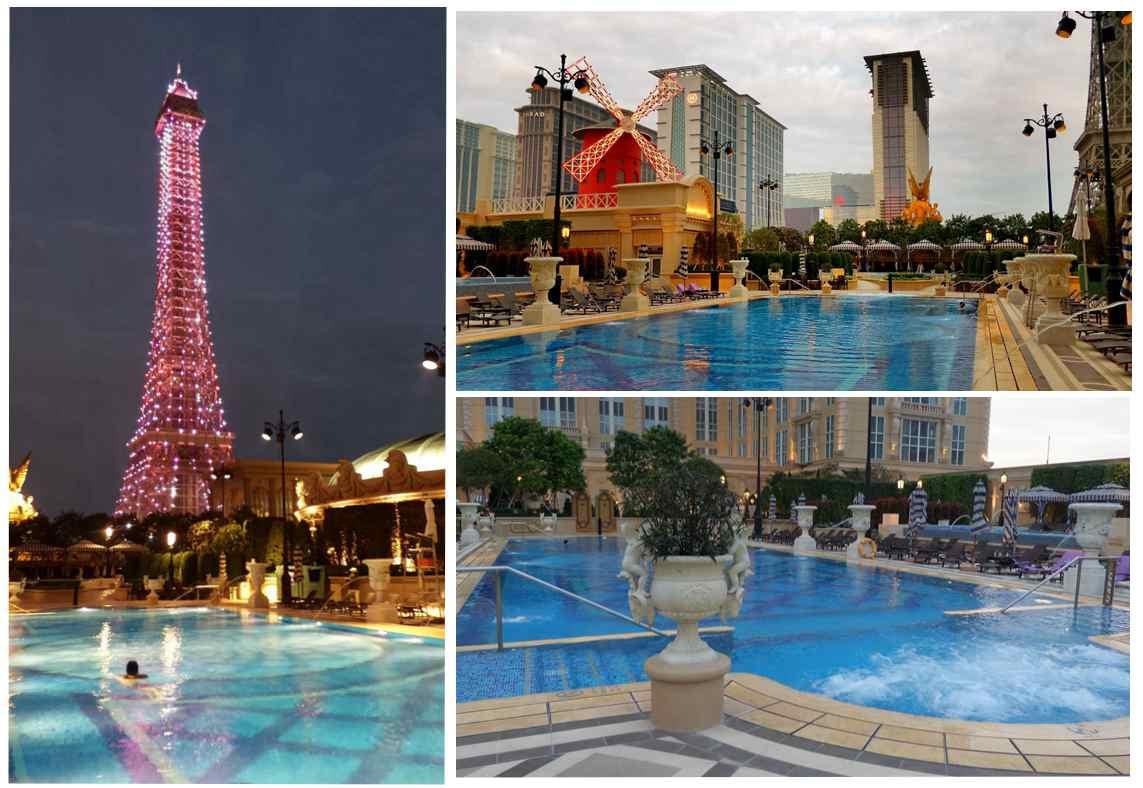 澳門巴黎人- 泳池
