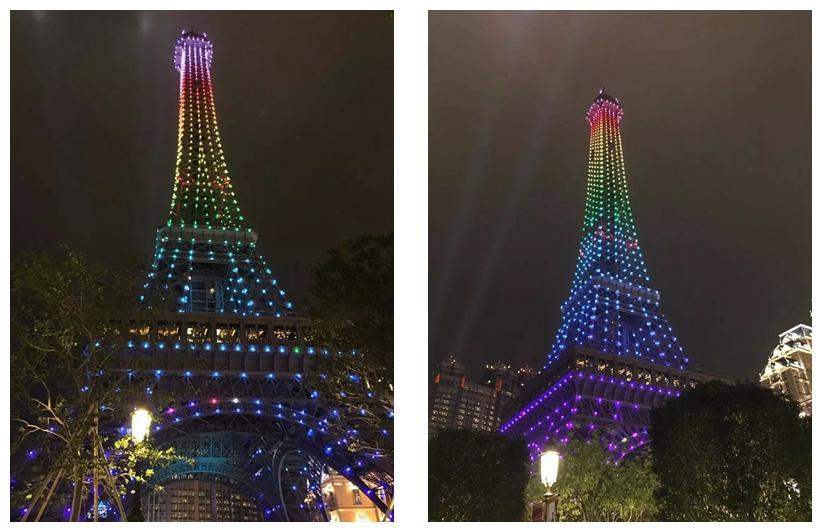 澳门巴黎人酒店埃菲尔铁塔