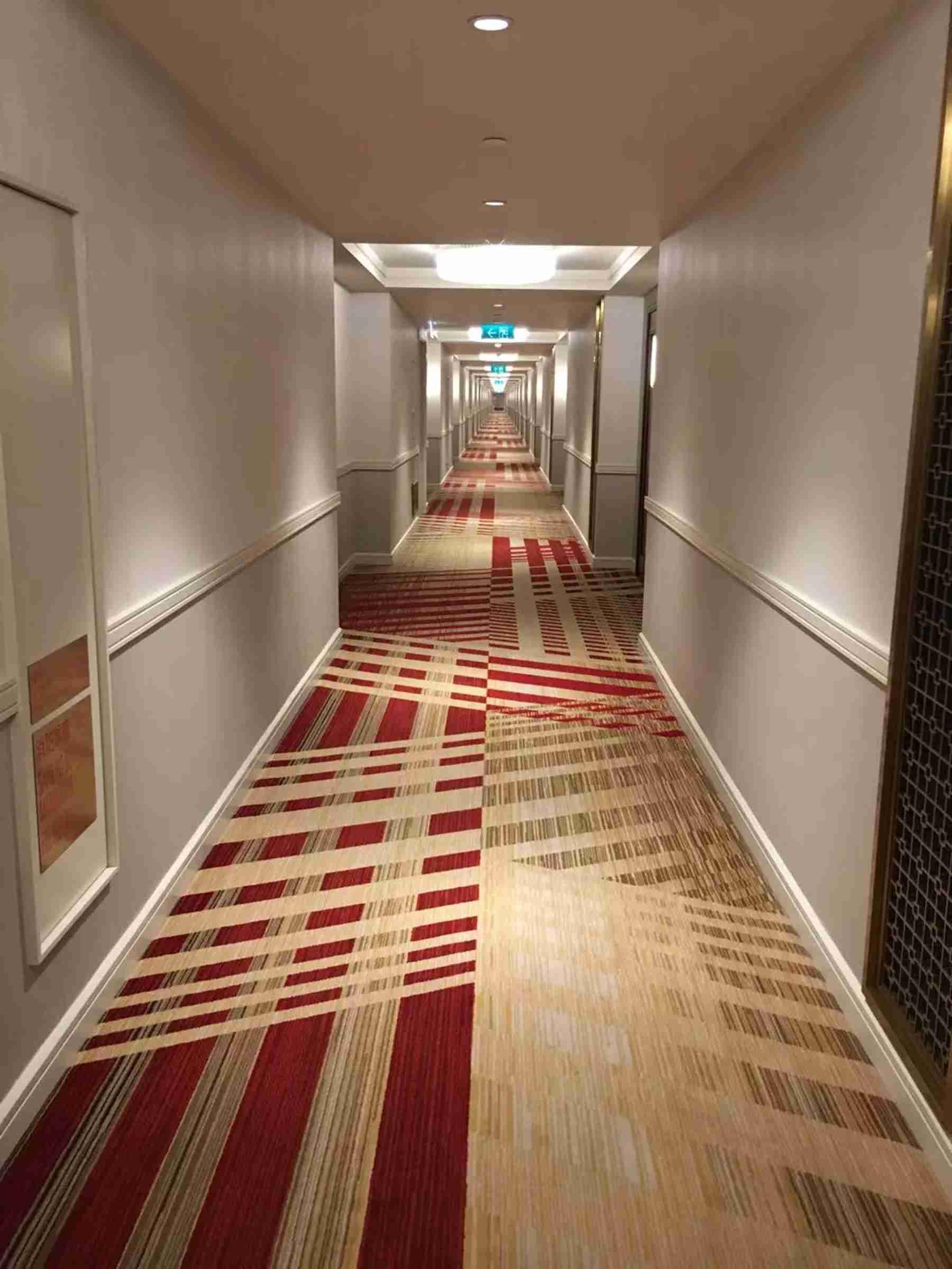 澳门巴黎人酒店走廊