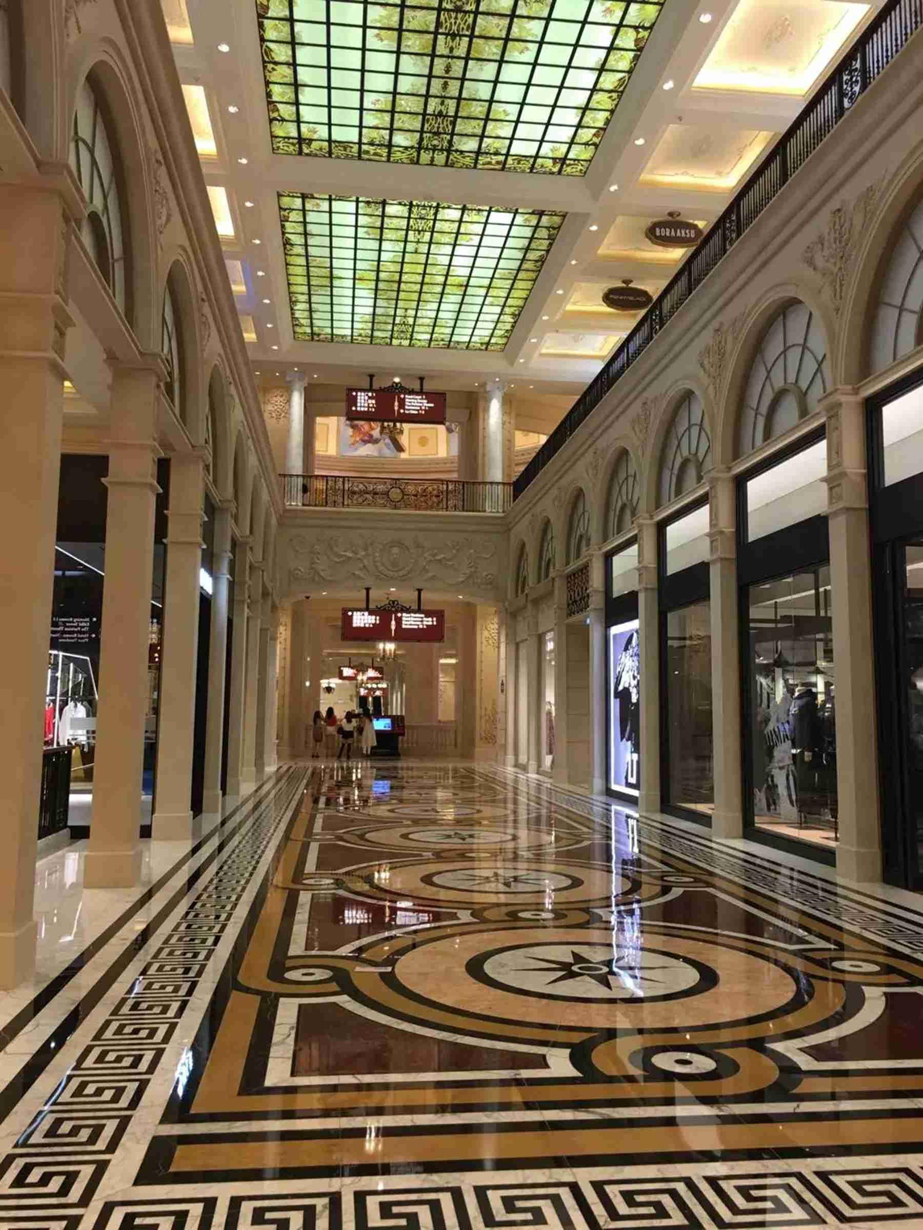 澳门巴黎人购物中心