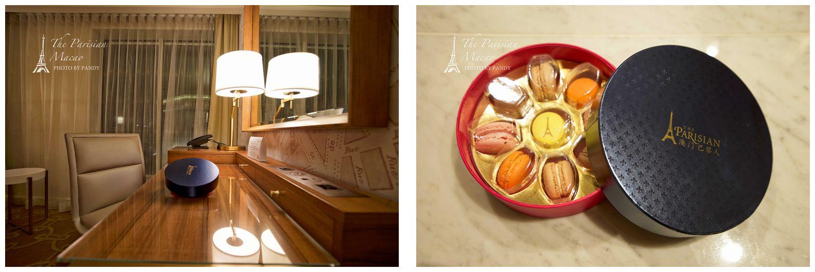 澳门巴黎人酒店房间-马卡龙