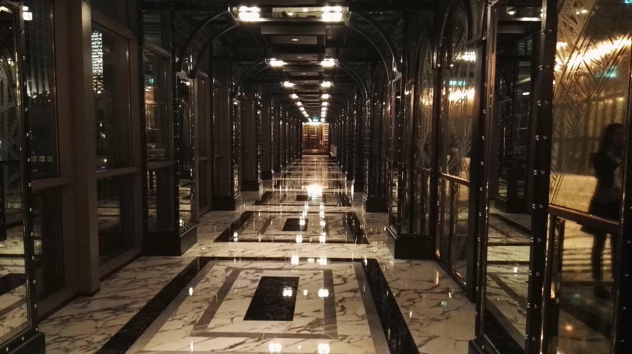 澳门巴黎人巴黎轩走廊
