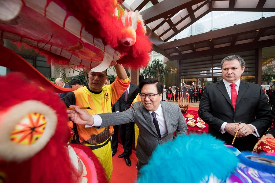 新春節慶儀式喜迎狗年 – 金沙中國有限公司