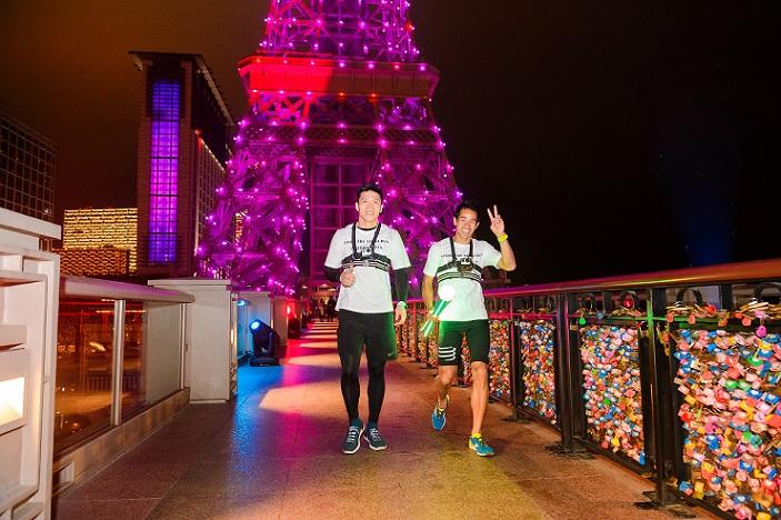 「閃耀金光慈善跑」- 澳門巴黎人的標誌性巴黎鐵塔
