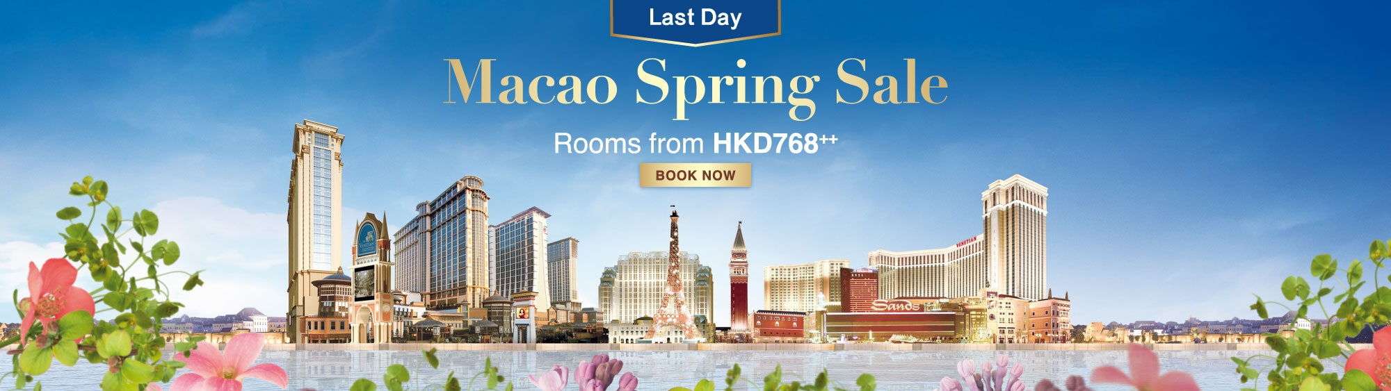Macao Spring Sale 2018