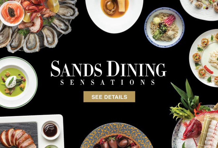 Sands Dining Sensantions