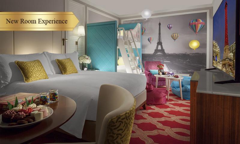 Parisian Macao Famille Room