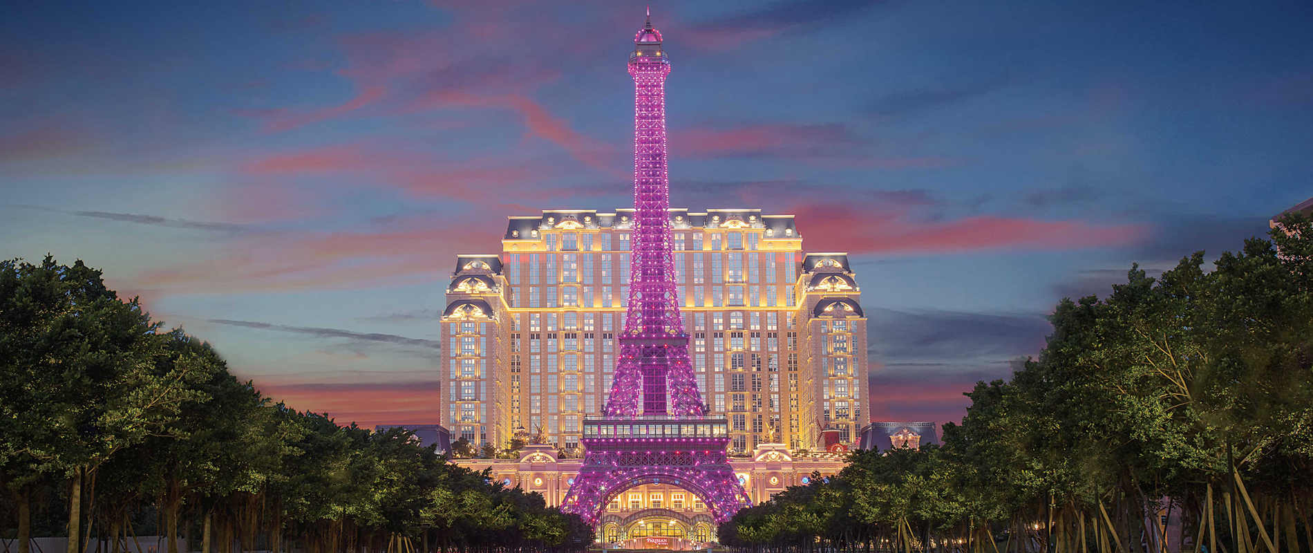 Eiffel Tower in Parisian Macao