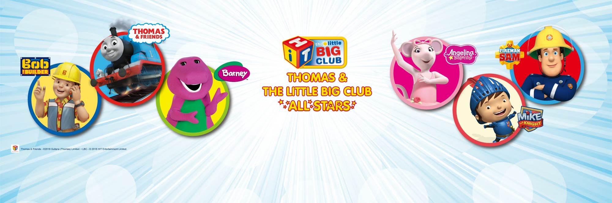 THE LITTLE BIG CLUB ALL STARS LIVE